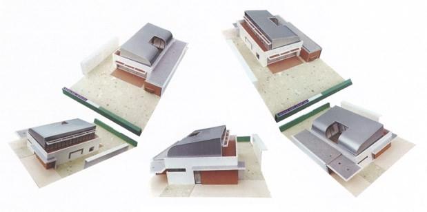 Welstandsprijs 2003 geselecteerde plannen for Kortooms interieur